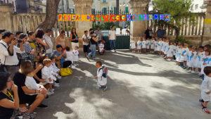 gruppo alunni e genitori