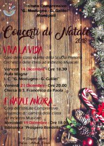 Concerti di Natale Modugno - Galilei 2018